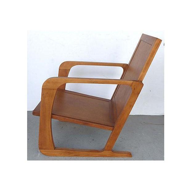 Kem Weber Art Deco Armchair For Mueller Chairish