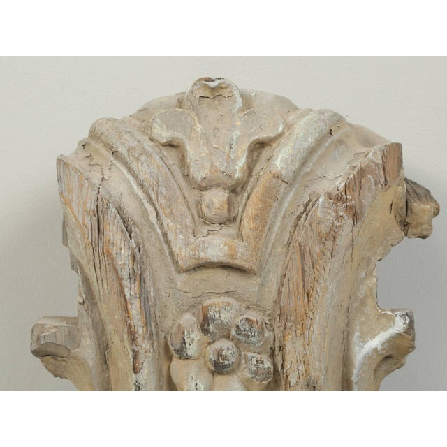 Antique Italian Carved Decorative Architectural Element For Sale - Image 4 of 10
