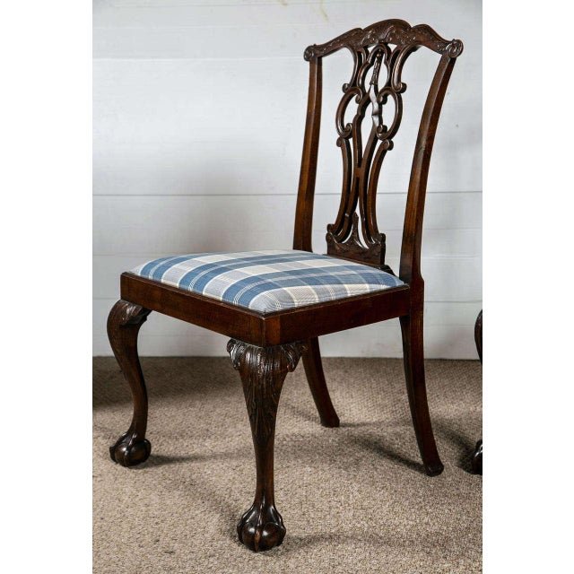 Chippendale Dining Chairs - Set of 8 - Image 4 of 9