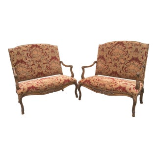 Tuscan Style Settees - a Pair For Sale