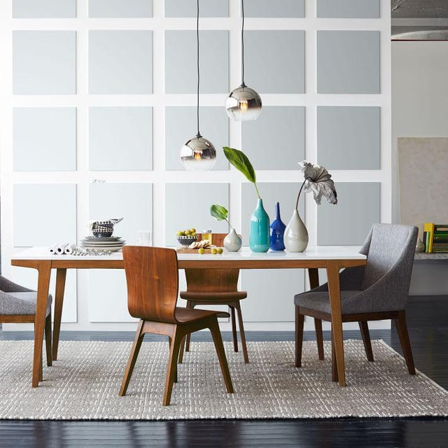 West Elm Modern Dining Table For Sale In New York - Image 6 of 7