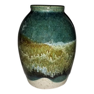 1970s James (Jim) McAnallen Pottery Vase For Sale