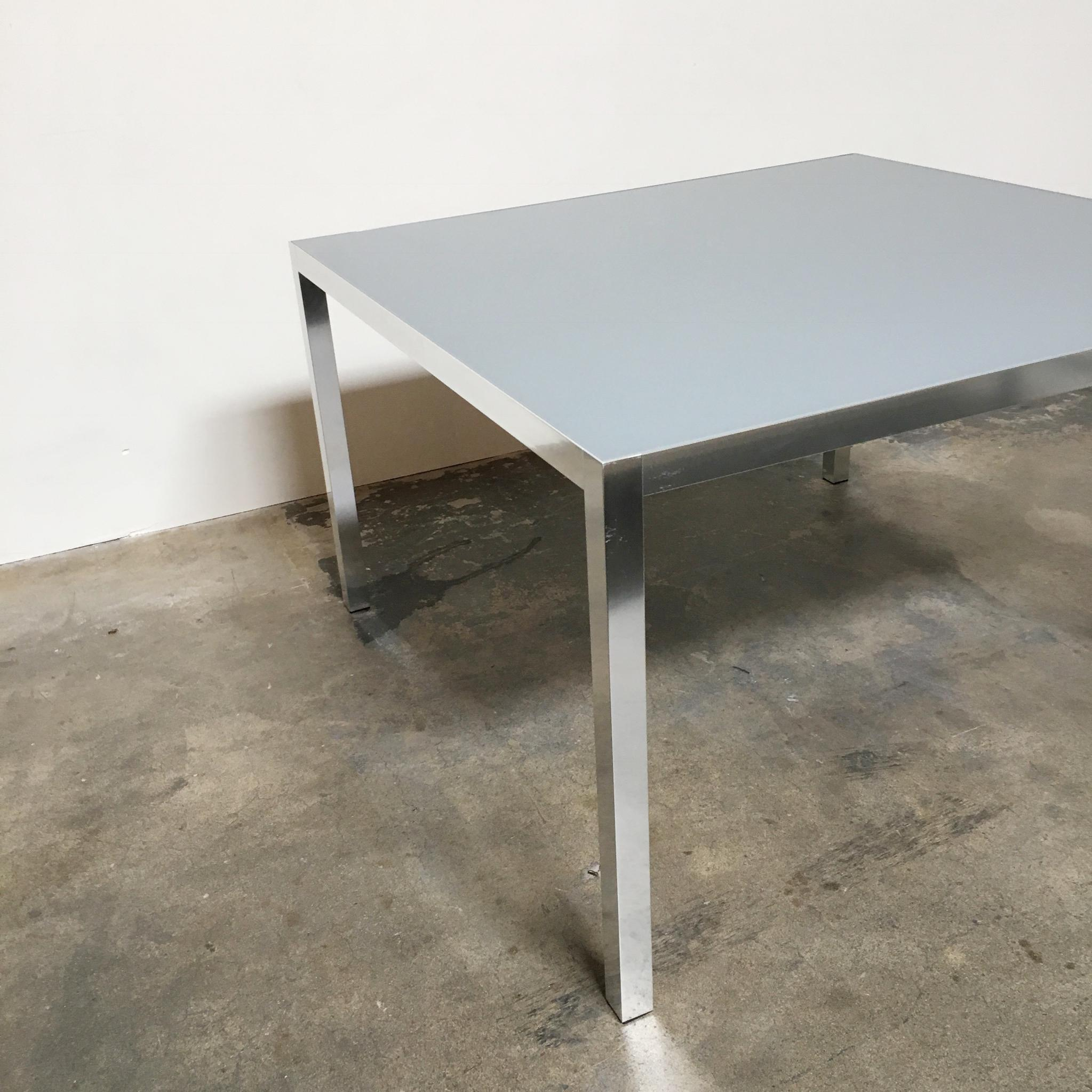 Modern MDF Italia U0027LIM 04u0027 Dining Table By Bruno Fattorini For Sale   Image