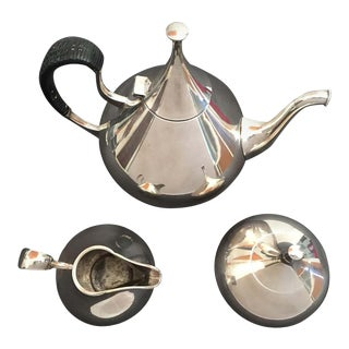 Reed & Barton John Prip Tea Set Service - 3 Pieces For Sale