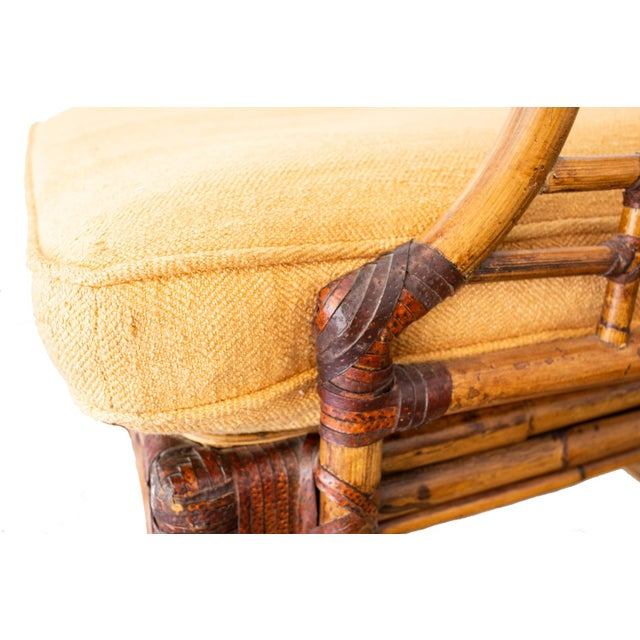 McGuire Bamboo Side Chairs- a Pair For Sale - Image 11 of 12