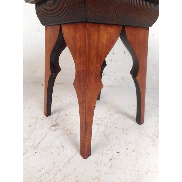 Mid-Century Modern Small Mid-Century Modern Sculpted Side Table or Pedestal For Sale - Image 3 of 6