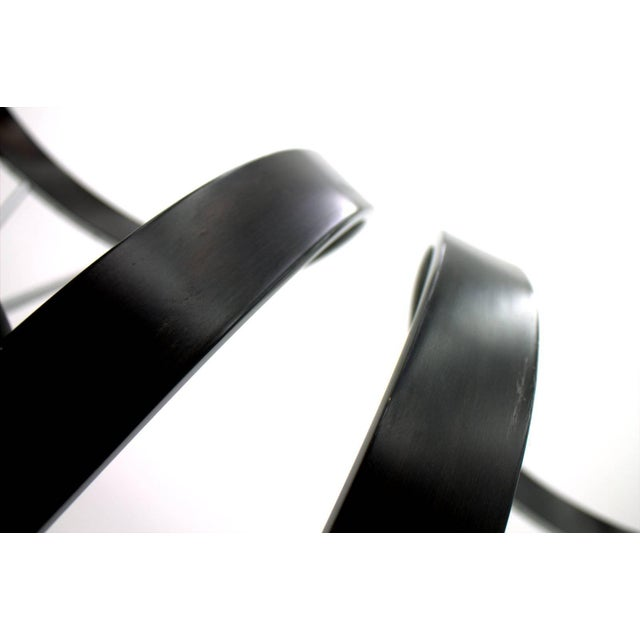 Metal Set of Six Revers Chairs, Andrea Branzi for Cassina, 1993 For Sale - Image 7 of 10