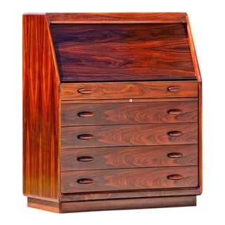 Drylund Rosewood Roll-Up Desk