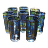 Image of Georges Briard Vintage Highball Glasses - Set of 8 For Sale