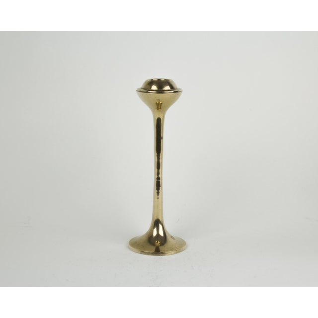 Abstract Mid-Century Modern Globe Candlestick Holders - Set of 4 For Sale - Image 3 of 9