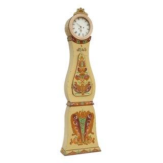 Antique Swedish Mora Clock 1865 For Sale