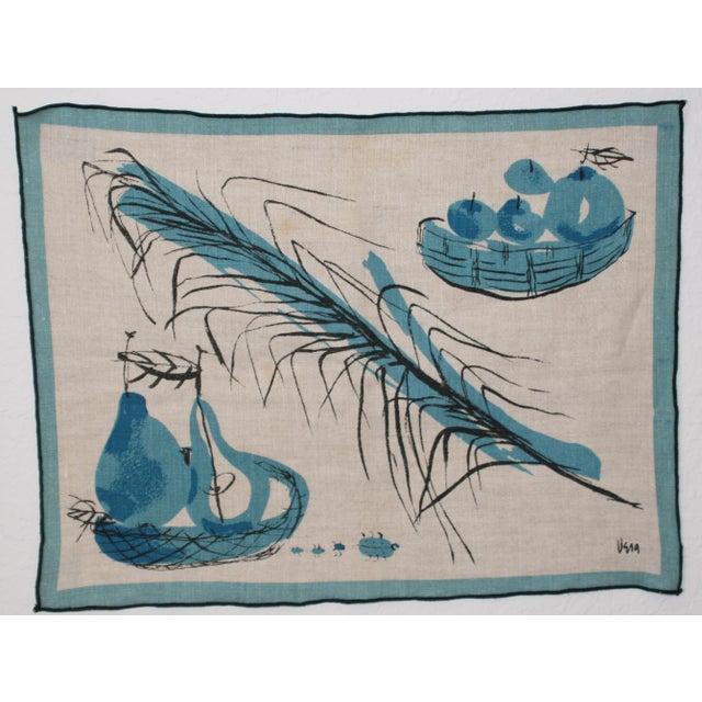 Vera Neumann Linen Placemats - Set of 4 - Image 4 of 7