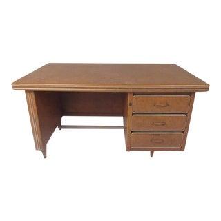 Rare Vintage Modern Italian Desk by Umberto Mascagni For Sale