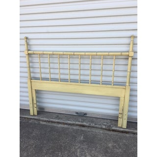 Vintage Henry Link Faux Bamboo Queen Headboard Preview