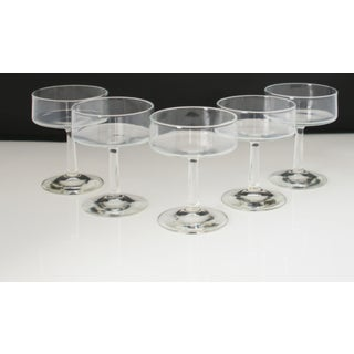 Mid-Century Dessert or Cocktail Glasses - Set of 5 Preview
