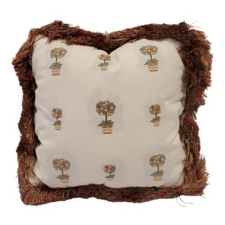 Throw Pillow With Brush For Sale