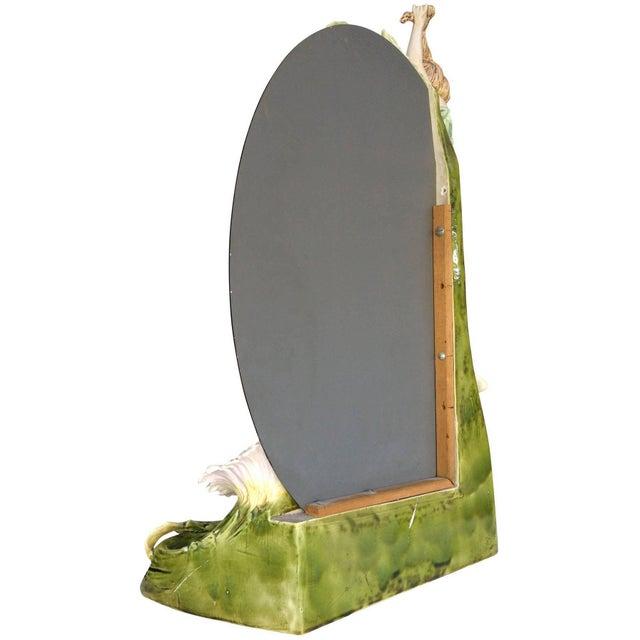 Hans Kieweg Art Nouveau Figural Vanity Mirror for Fraureuth - Image 8 of 10