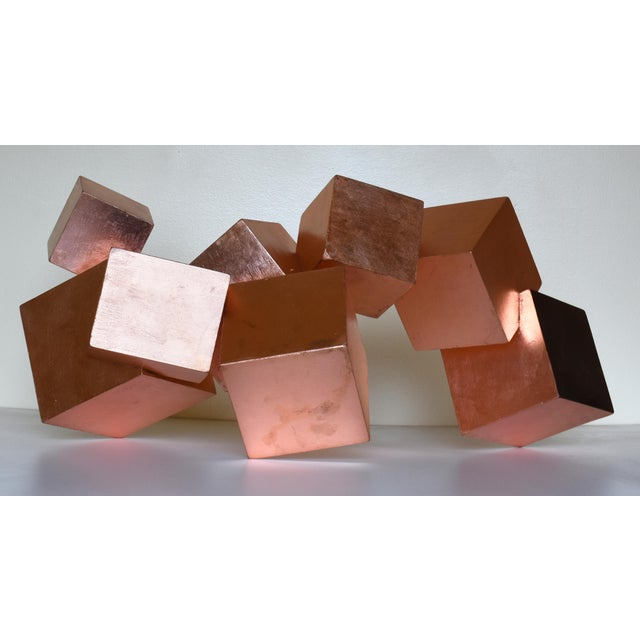 Chloe Hedden Copper and Mahogany Pyrite Sculpture For Sale - Image 4 of 13