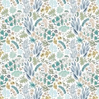 House of Harris Cambridge Wallpaper, 30 Yards, Blue