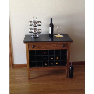 1920s Rustic Dry Bar/Wine Cabinet Preview