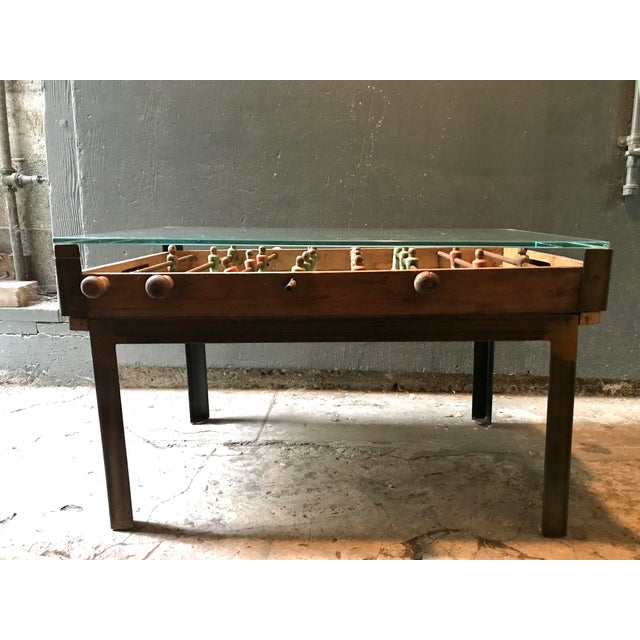 Antique Foosball Coffee Table Chairish - Antique foosball table for sale