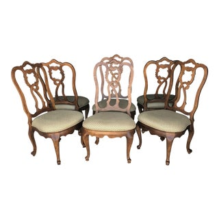 Set of Six Century Dining Chairs For Sale