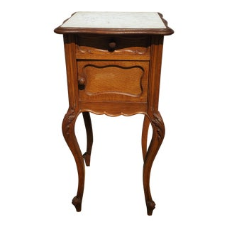 19th Century French Louis XV Nightstand For Sale
