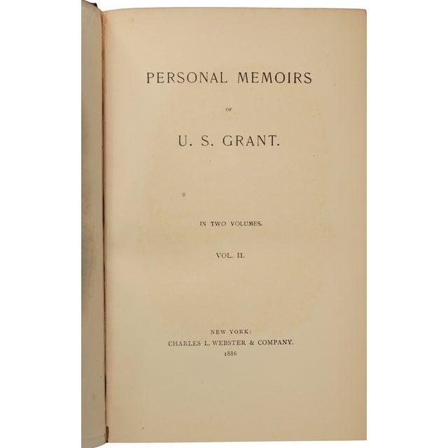 Personal Memoirs of U. S. Grant, First Ed. - Pair - Image 8 of 8