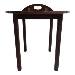 Mahogany Bombay Company Tray Top Butlers Coffee Table