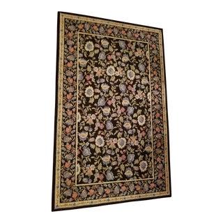 Handmade Oriental Wool Rug - 5' X 8' For Sale