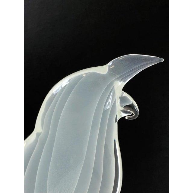 Italian Italian Murano Glass Bird by Licio Zanetti For Sale - Image 3 of 12