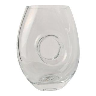 Jeff Leatham Waterford Crystal Vase For Sale