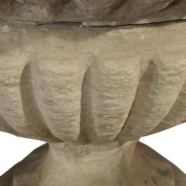 Original Carved Limestone Finial from the Second Chicago Courthouse - Image 3 of 4