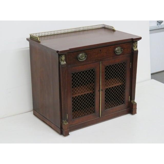 Antique 19th C. Regency Style 2-Door Cabinet - Image 2 of 6