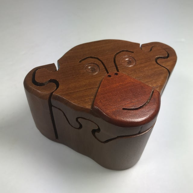 Wooden Monkey Puzzle Box For Sale In Austin - Image 6 of 9