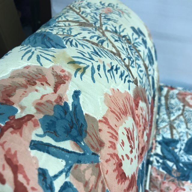 Hollyhock Chintz Camelback Sofa For Sale - Image 10 of 11