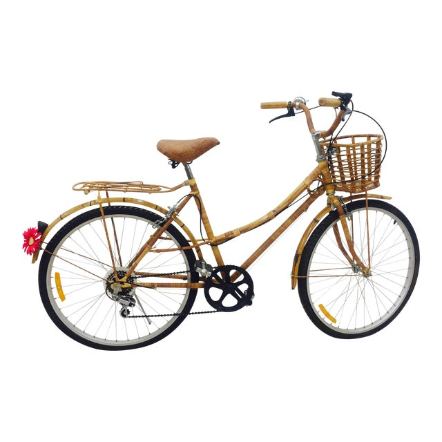 Vintage Bamboo Bicycle - Full Size - Image 1 of 11