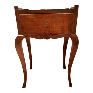 Early 20th Century Antique French Country Nightstand For Sale
