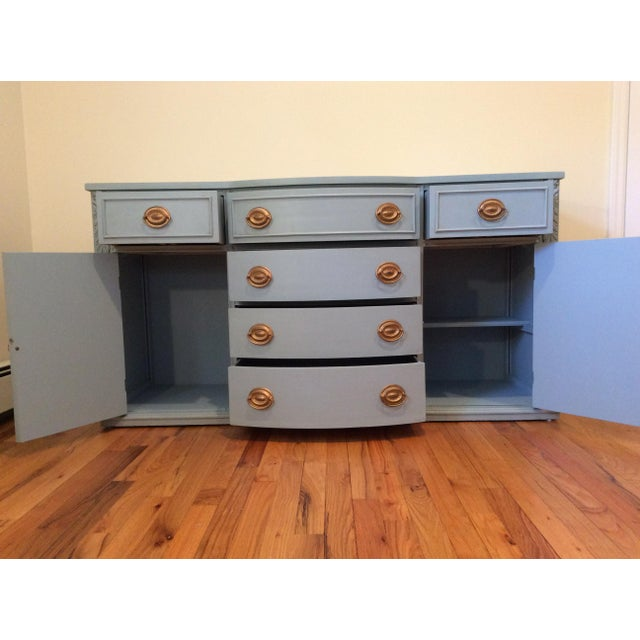 1940s Vintage Sideboard/Buffet For Sale - Image 4 of 11