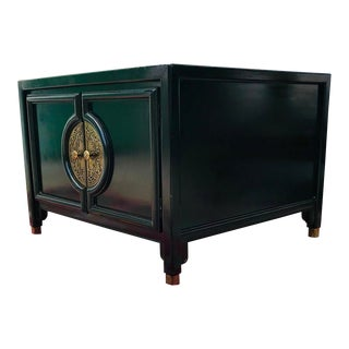 Vintage Asian Ming Style Square Coffee Table For Sale