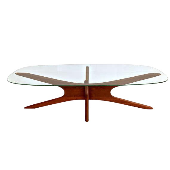 Vintage Coffee Table by Adrian Pearsall for Craft Associates - Image 1 of 3
