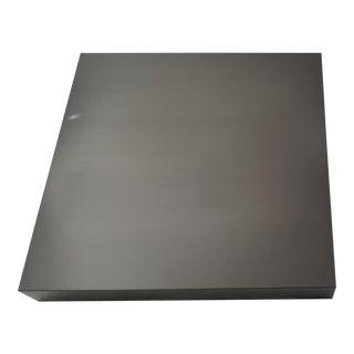 Restoration Hardware Floating Metal Shelf For Sale