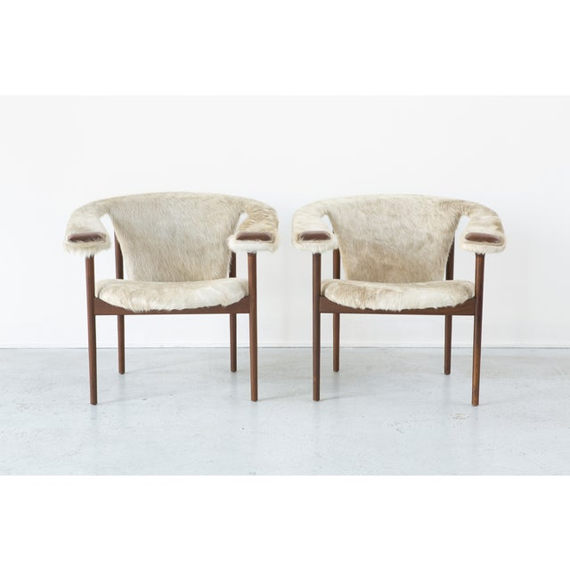 Set of Adrian Pearsall Lounge Chairs - Image 2 of 11