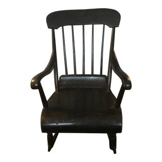 Early American Children's Rocking Chair For Sale