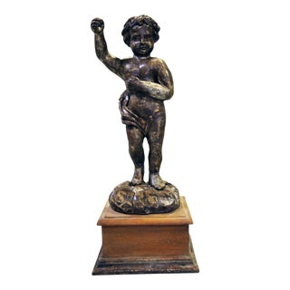 18th Century Angel Statue Lucca, Italy For Sale