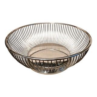Vintage Gorham Silver-Plated Bread Basket
