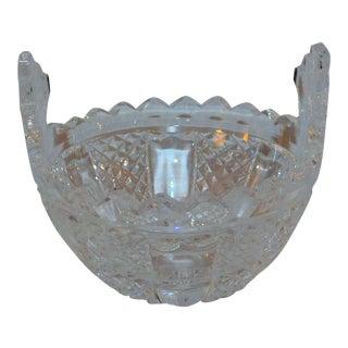 Vintage Waterford Crystal Basket For Sale