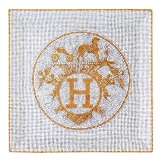 Hermes Mosaïque Porcelain Plate For Sale