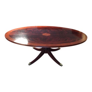 Hekman Copley Place Pedestal Coffee Table For Sale