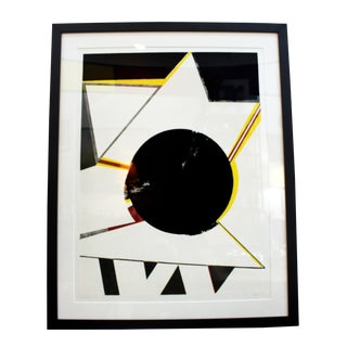 Budd Hopkins Abstract Lithograph For Sale